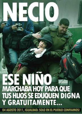 HERÓICO CARABINERO DE CHILE CAPTURA UN NIÑO