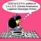 Desde Italia: NO A LA SOPA
